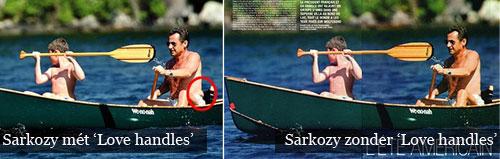 Sarkozy en Photoshop